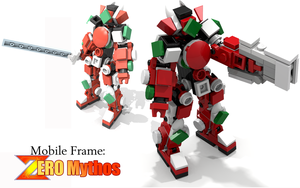 Mobile Frame: Zero Mythos by ArusiaSotto