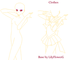 sailor scout base 3 by LilyFlowerG