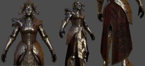 Medusa Armor For Skyrim 1