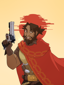 Mccree by The-Art-Files