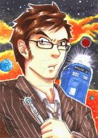 ACEO - The Doctor by Orcagirl2001