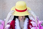 L-Luffy's hat ~ by PinkLemon91