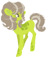 Pony OC design: 'Kappa' by Rannarbananar