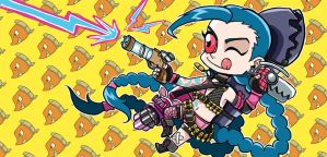 Jinx - The Loose Cannon by puppyShaker