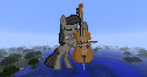 Octavia playing the bass by Dutchcrafter