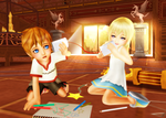 I Love You - Roxas/Namine by SorasPrincesss