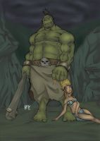 Orc colored by Aru-Metalhead