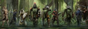 Might of the Guild by Gadzooooks