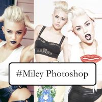 Miley PhotoShop by HowToLoveEditions