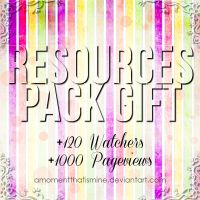Resources Pack Gift by AMomentThatIsMine
