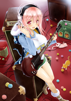 ....SuperSonico.... by okitakung