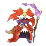MEGA DELPHOX by Lucas-Costa