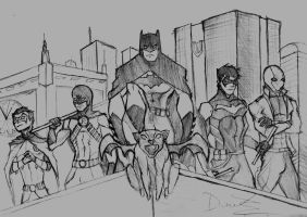 The Knights of Gotham by RJDJ-Productions