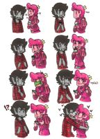 Marshall lee x Gumball Cupcakes by Mutil8tor