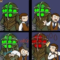 Comic: Bioshock by Pandadrake