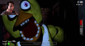 Quack Attack - Five Nights at Freddy's w/ Mark by DA-AuoraVirus