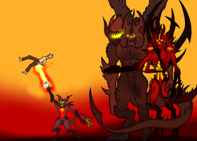 Infernal family by marcioo9
