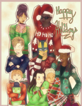 Christmas Sweater with Da Leaders by XxmimixX2