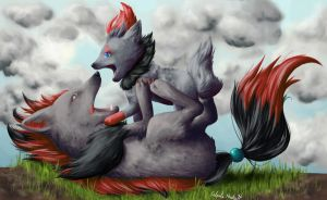 Play time by GrayWolfShadow