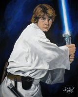 Star Wars - Luke Skywalker by ZomBieTOmmm
