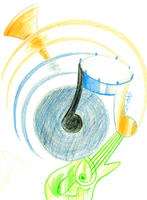 7 Day Doodles - Visual Melody by McKnackus