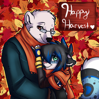 Happy Harvest Time by BlueKazenate