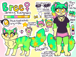 Bree Reference by stormfurs