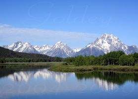 Grand Teton by Goldey