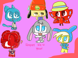 Happy New Year 2013 by princessforever14