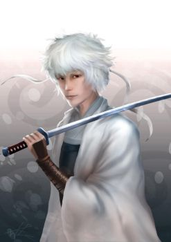 Shiroyasha - Young Gintoki by Wineye-ll