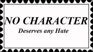 No Character Hate Stamp by AngelMaria89