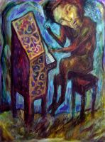 piano player by inner