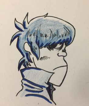 Gorillaz-murdoc by ansem-the-dead