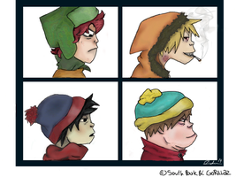 Demon Days_South Park by FuckFust
