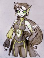 AT: Space Princess? by Danielle-chan