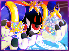 Magolor Wins by The-Quill-Warrior