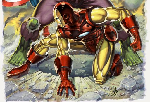Fan Art Cover Iron Man 131 bis01 by golgoth71