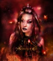 burning love by L-A-Addams-Art