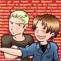 APH: Germany x Italy by TerribleToadQueen