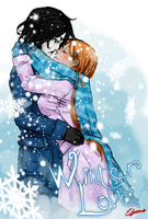 Winter love by ElyonBlackStar