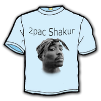 2pac T-Shirt by AbdeLo