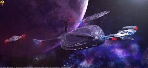 25 Century Starships by Euderion