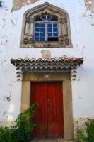 Old Window and Door - Marvao by FilipaGrilo