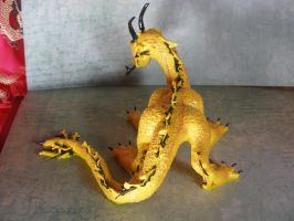 Back view of the Bartoli Dragon by ArtisticAdventures
