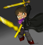 Dual Wielding Butter Swords by owlmaddie