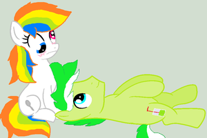 I pumped into angel(Limsy X Spoony) by cottoncloudyfilly