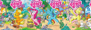 MLP: FIM official Comics Covers by Rex42