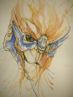 Garrus 4 by CuriousCanvas