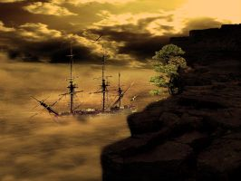 Pirate ship by 1995levente