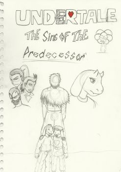 Undertale: Sins of the predecessor (title page) by Jade-the-Guilmon